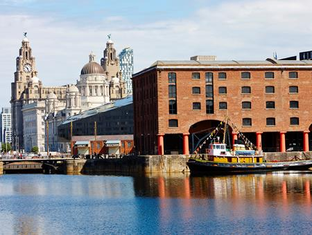 LILA* Liverpool Albert Dock and Three Graces