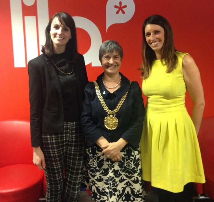 LILA* Directors and Liverpool Mayor