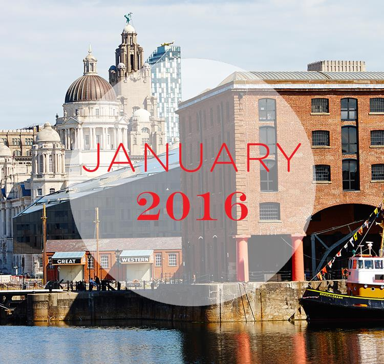 January in Liverpool